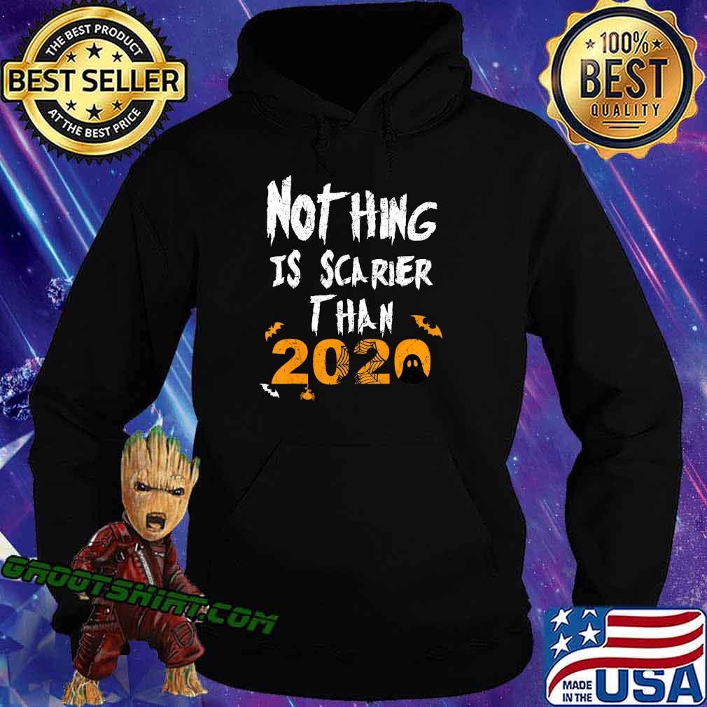 Nothing Scarier Than 2020 Funny Ghost Halloween Costume T-Shirt Hoodie