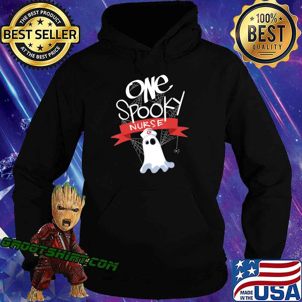 Nurse Costume Eek A Boo Ghost Shirt The Boo Crew T-Shirt Hoodie