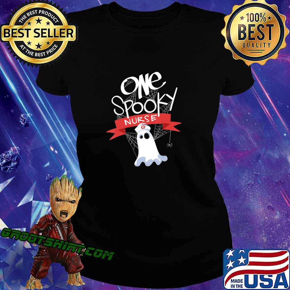 Nurse Costume Eek A Boo Ghost Shirt The Boo Crew T-Shirt Ladiestee