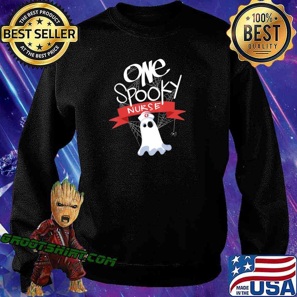 Nurse Costume Eek A Boo Ghost Shirt The Boo Crew T-Shirt Sweatshirt
