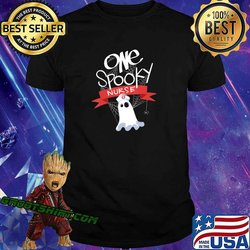 Nurse Costume Eek A Boo Ghost Shirt The Boo Crew T-Shirt
