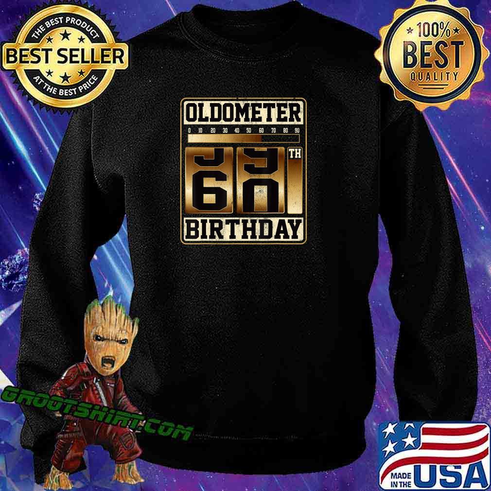 Oldometer 59-60 Shirt Turning 60 Birthday Gift Oldometer 60 T-Shirt Sweatshirt