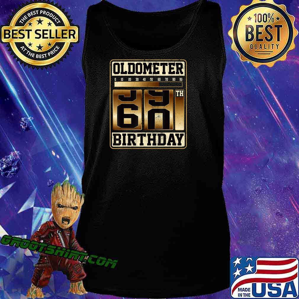 Oldometer 59-60 Shirt Turning 60 Birthday Gift Oldometer 60 T-Shirt Tank Top