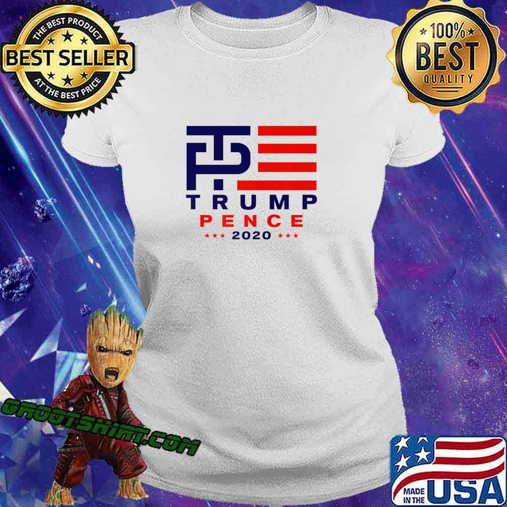 Trump Pence 2020 Premium T-Shirt Ladiestee