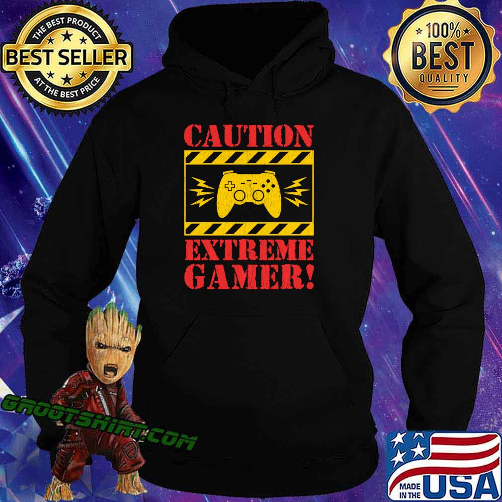 Video Games Extreme Gamer Controller For Men Boys Kids Shirt Hoodie