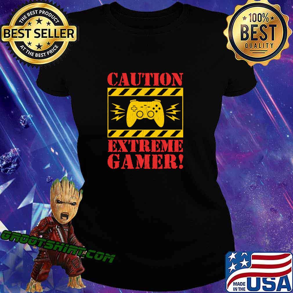 Video Games Extreme Gamer Controller For Men Boys Kids Shirt Ladiestee