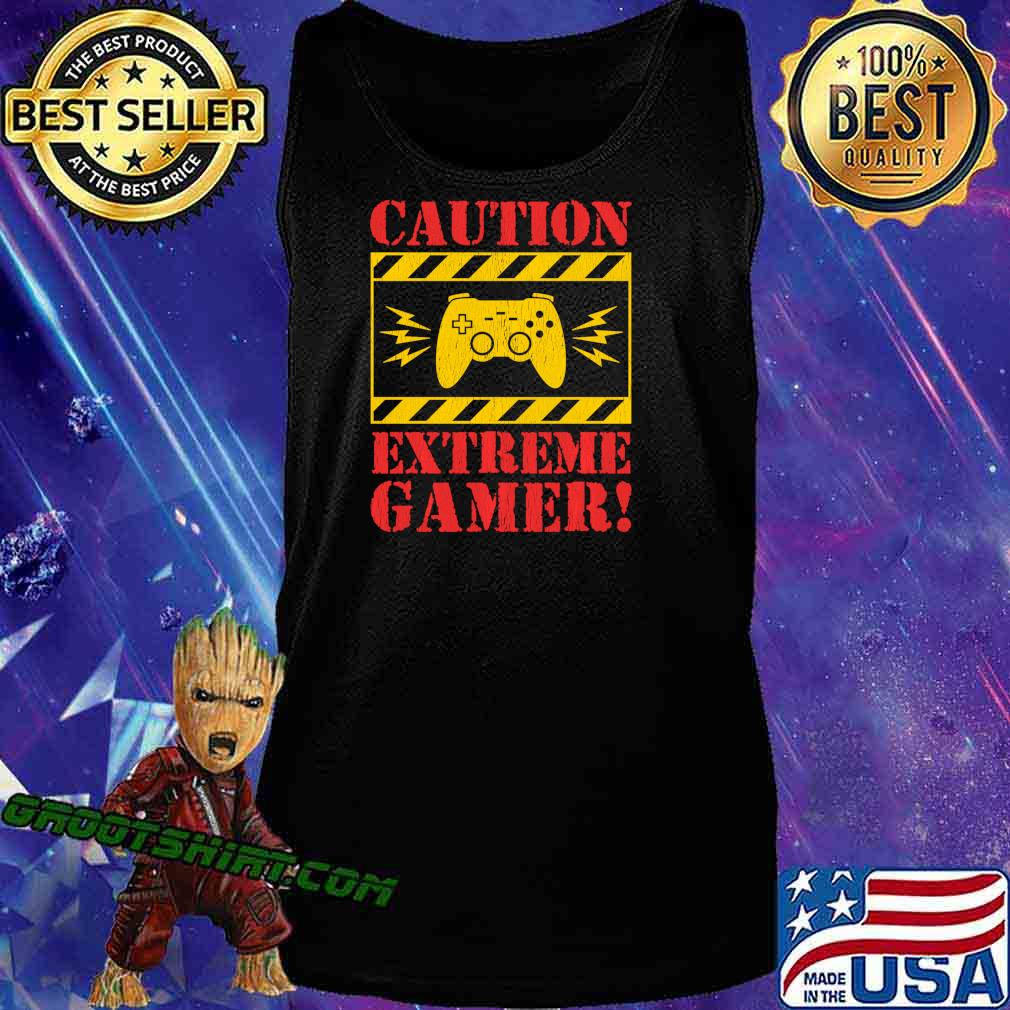 Video Games Extreme Gamer Controller For Men Boys Kids Shirt Tank Top