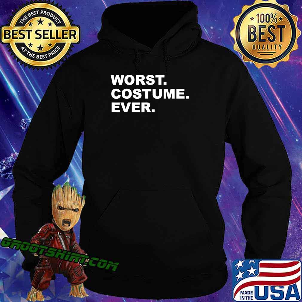 Worst Costume Ever Funny Halloween Vintage Party T-Shirt Hoodie