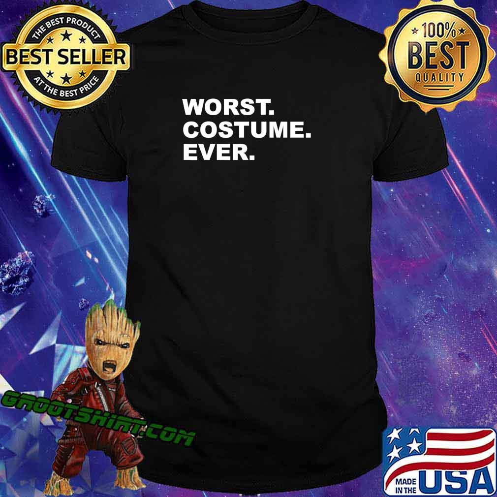 Worst Costume Ever Funny Halloween Vintage Party T-Shirt