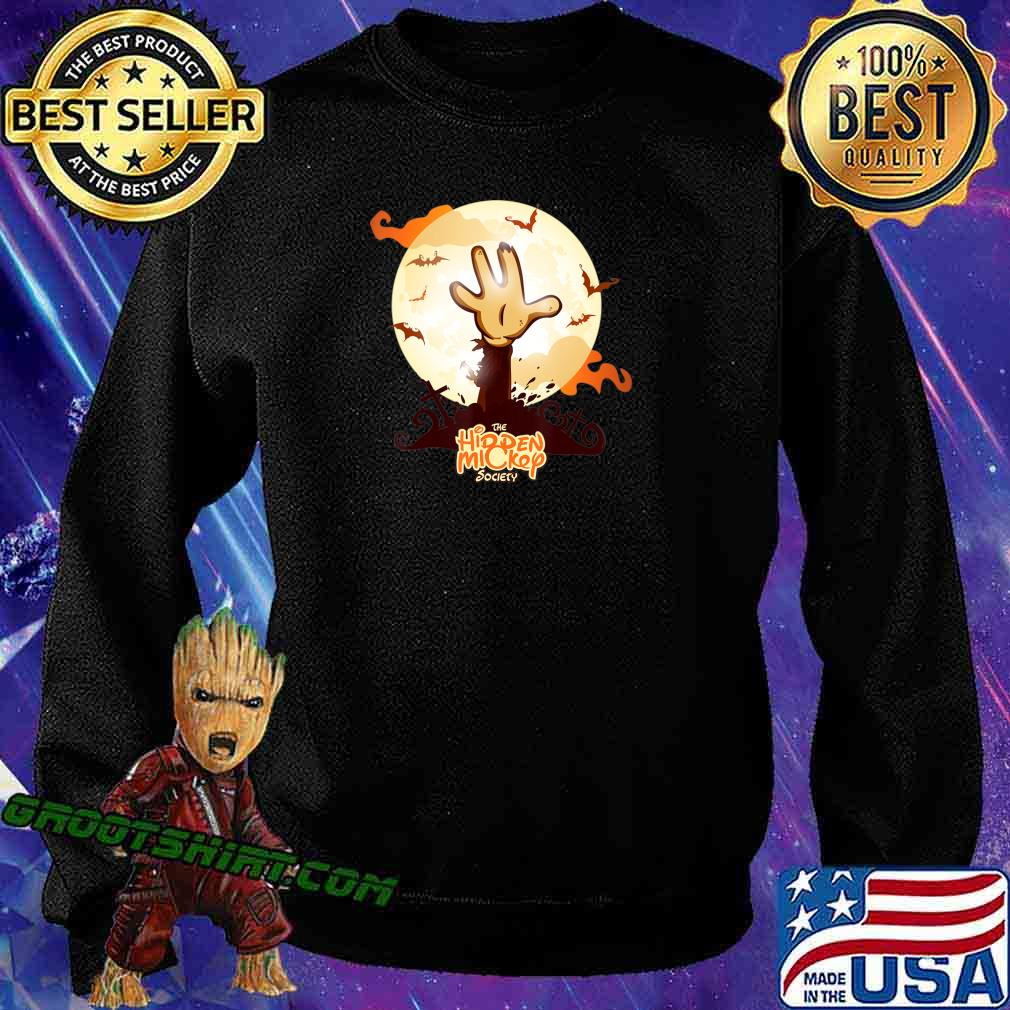 Zombie Hand Costumes For Women Eek a Boo Monkey Zombie T-Shirt Sweatshirt