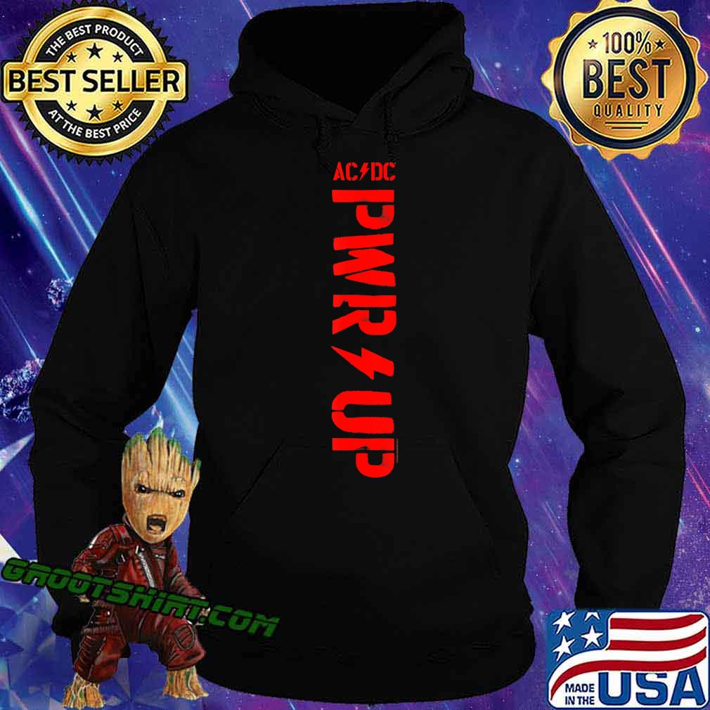 ACDC - PWR UP T-Shirt Hoodie