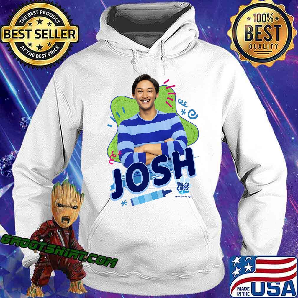 Blue's Clues & You Josh Portrait Premium T-Shirt Hoodie