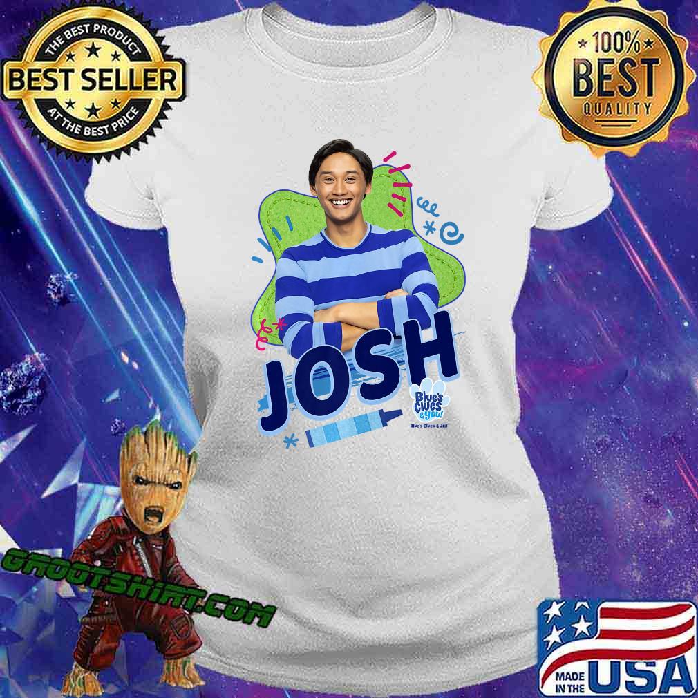 Blue's Clues & You Josh Portrait Premium T-Shirt Ladiestee