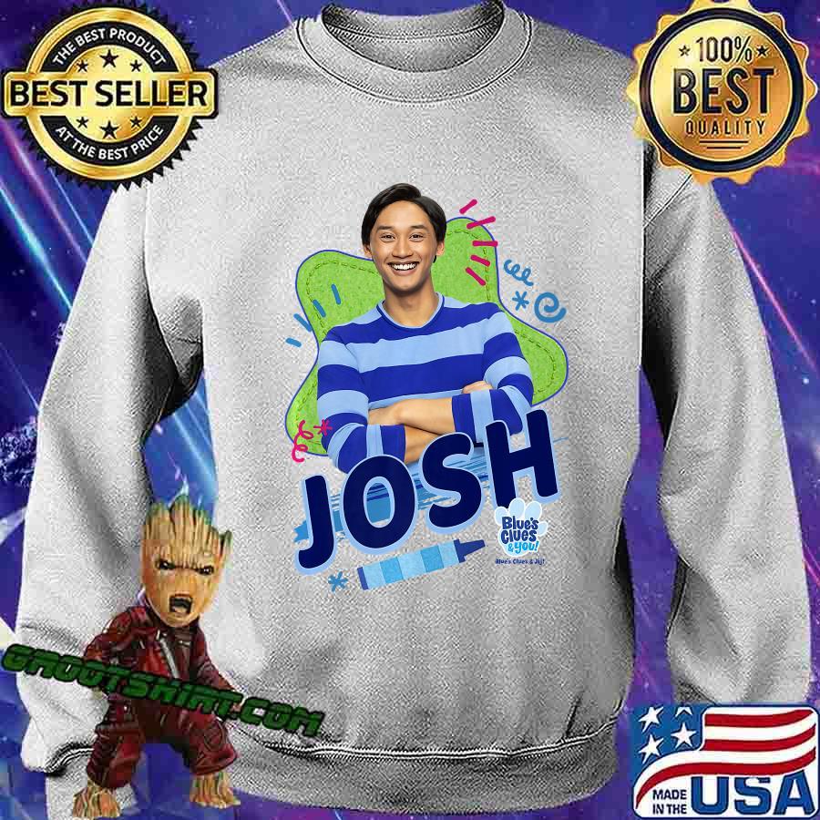 Blue's Clues & You Josh Portrait Premium T-Shirt Sweatshirt