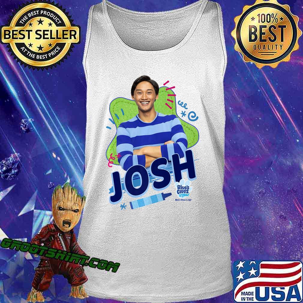 Blue's Clues & You Josh Portrait Premium T-Shirt Tank Top