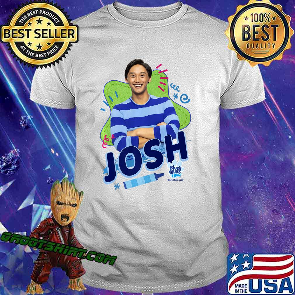 Blue's Clues & You Josh Portrait Premium T-Shirt
