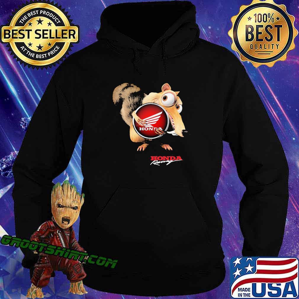 Ice age scrat hug honda logo s Hoodie