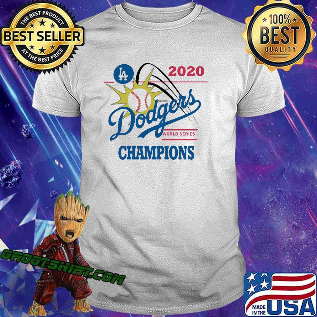 Los Angeles Dodgers Champions baseball 2020 Shirt