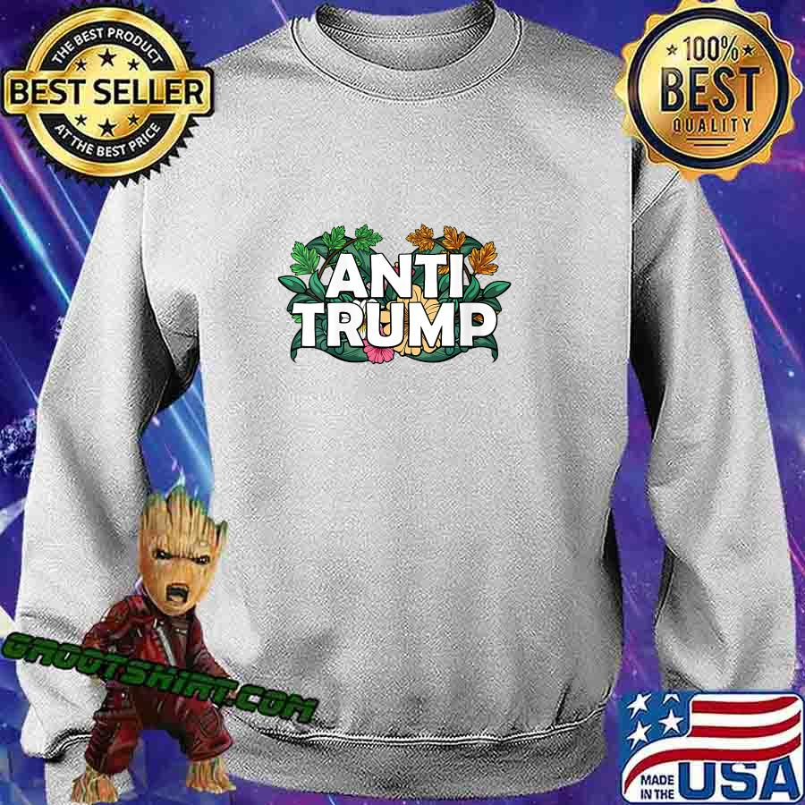 RESIST Floral Anti Trump Political Protest America Shirt Sweatshirt