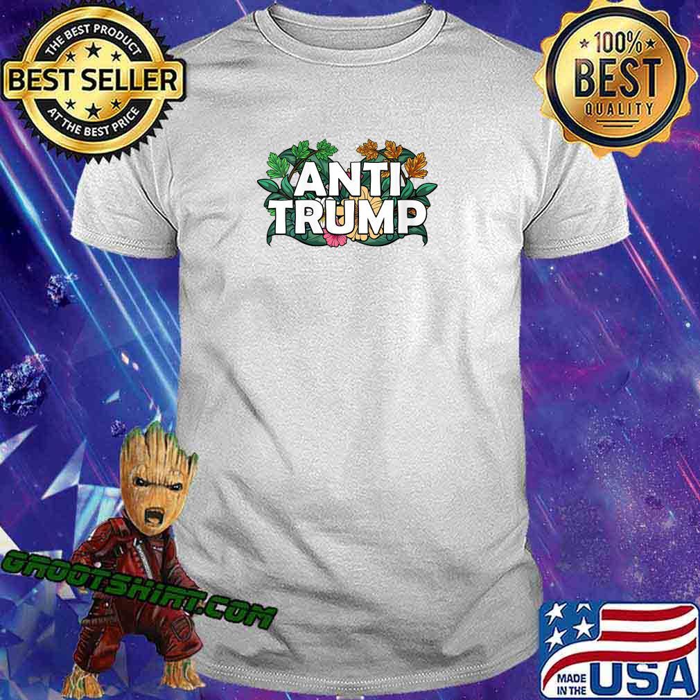 RESIST Floral Anti Trump Political Protest America Shirt