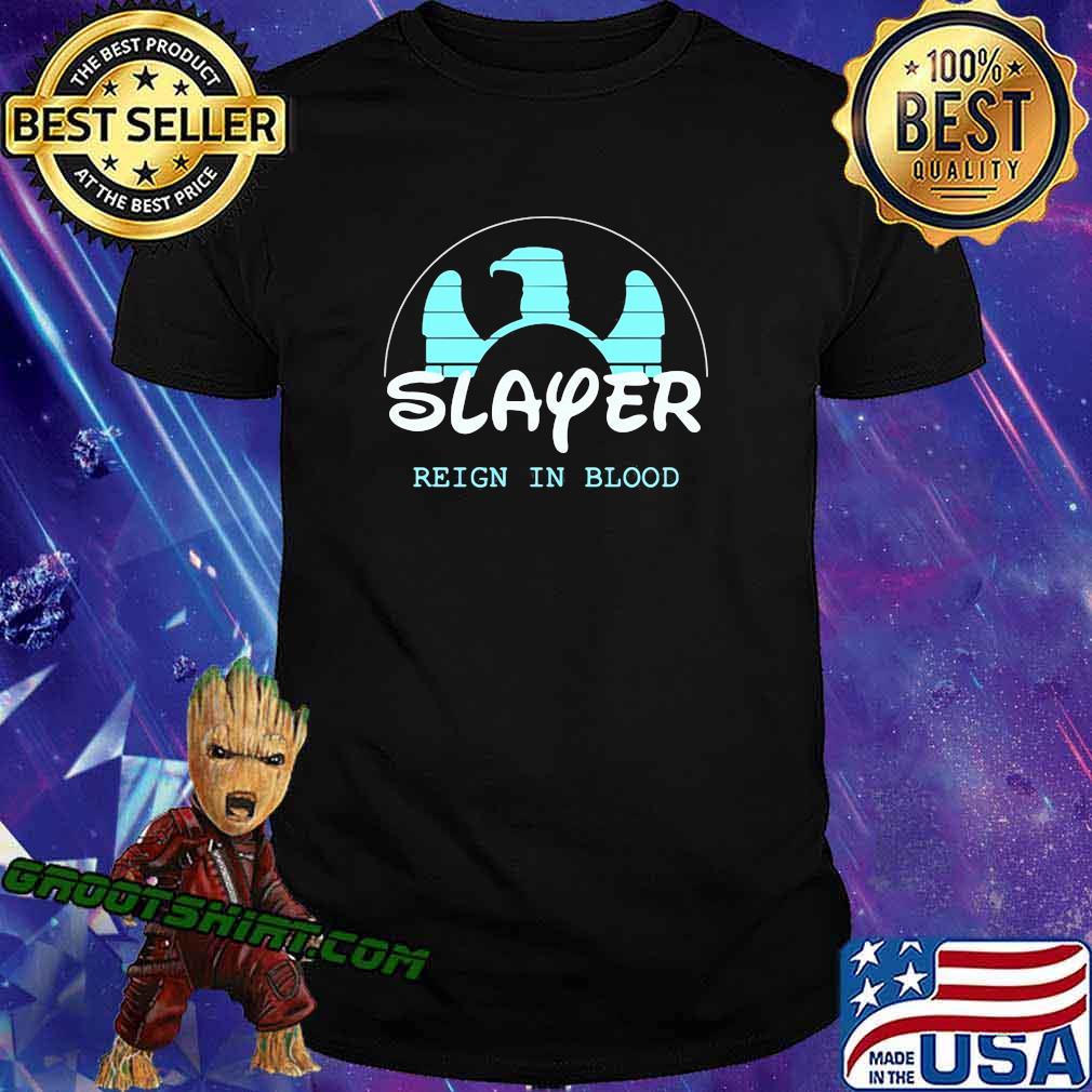 Walt disney slayer reign in blood shirt