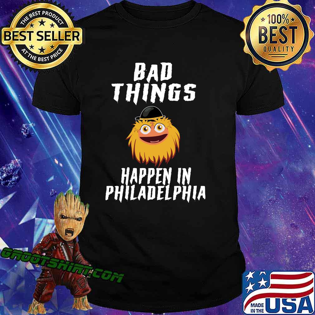 Bad things happen in philadelphia gritty essential shirt