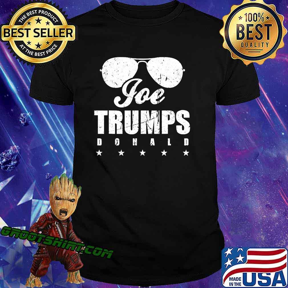 Joe Trumps Donald Sunglasses Stars Election Shirt