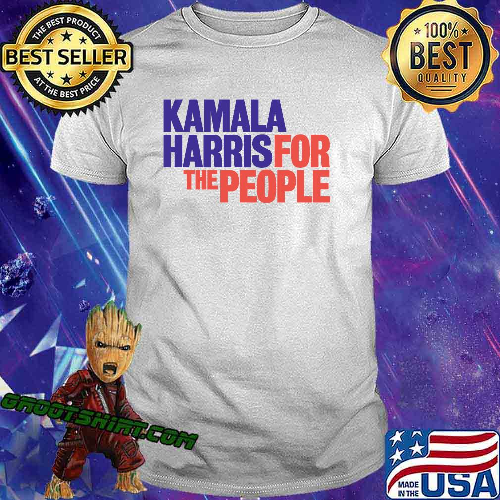 Kamala harris for the people 2020 president campaign tough principled fearless classic shirt