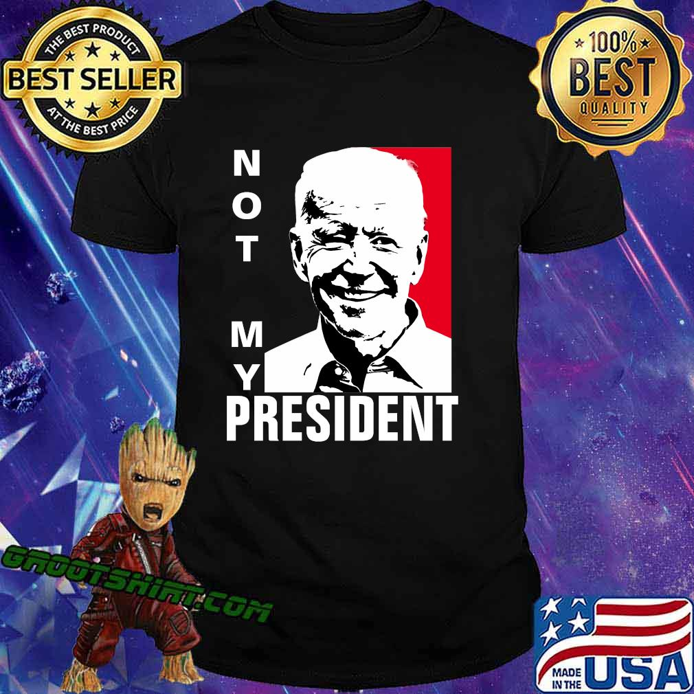 Not my president joe biden classic art shirt