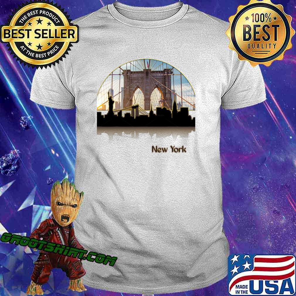 Sunset Circle New York City Vintage Shirt