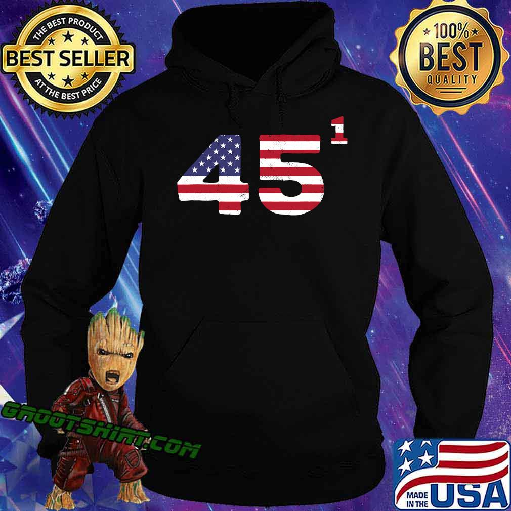 Trump One Term President American Flag Election 2020 Shirt Hoodie