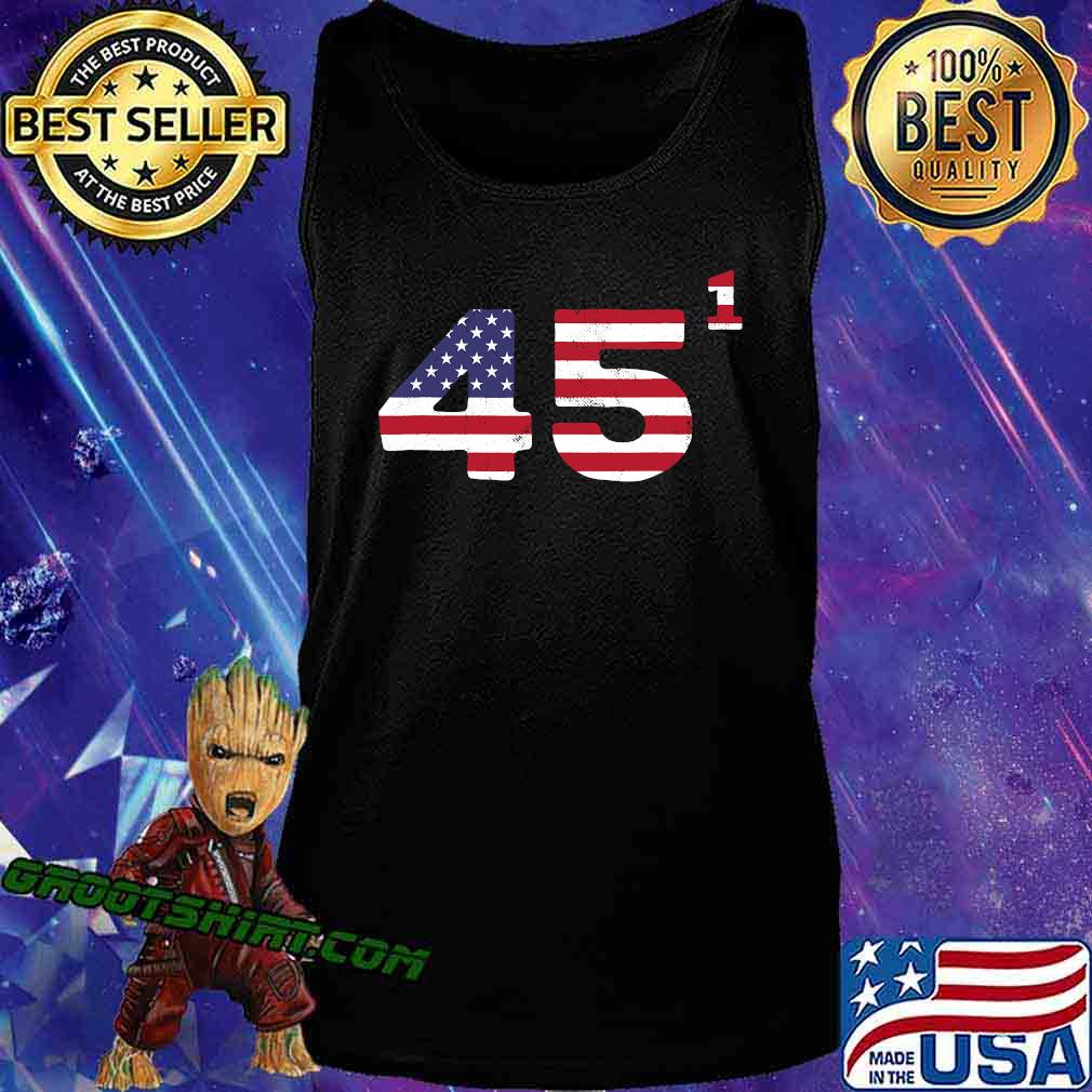 Trump One Term President American Flag Election 2020 Shirt Tank Top