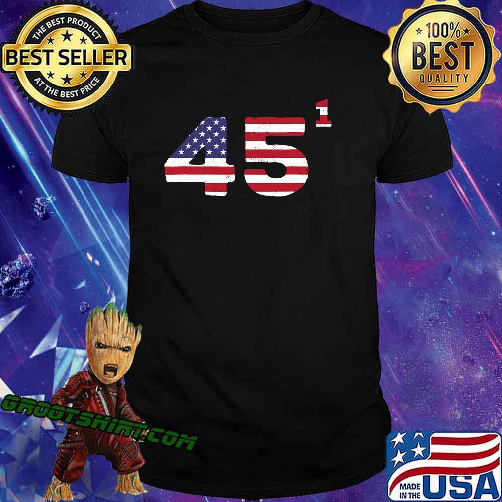 Trump One Term President American Flag Election 2020 Shirt