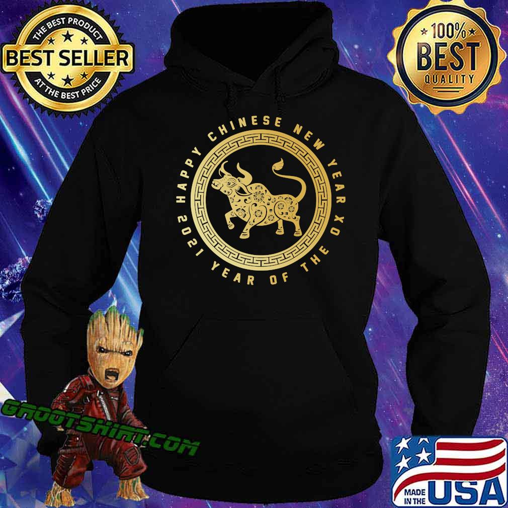 Year Of The Ox Happy Lunar Chinese New Year 2021 Logo Shirt Hoodie