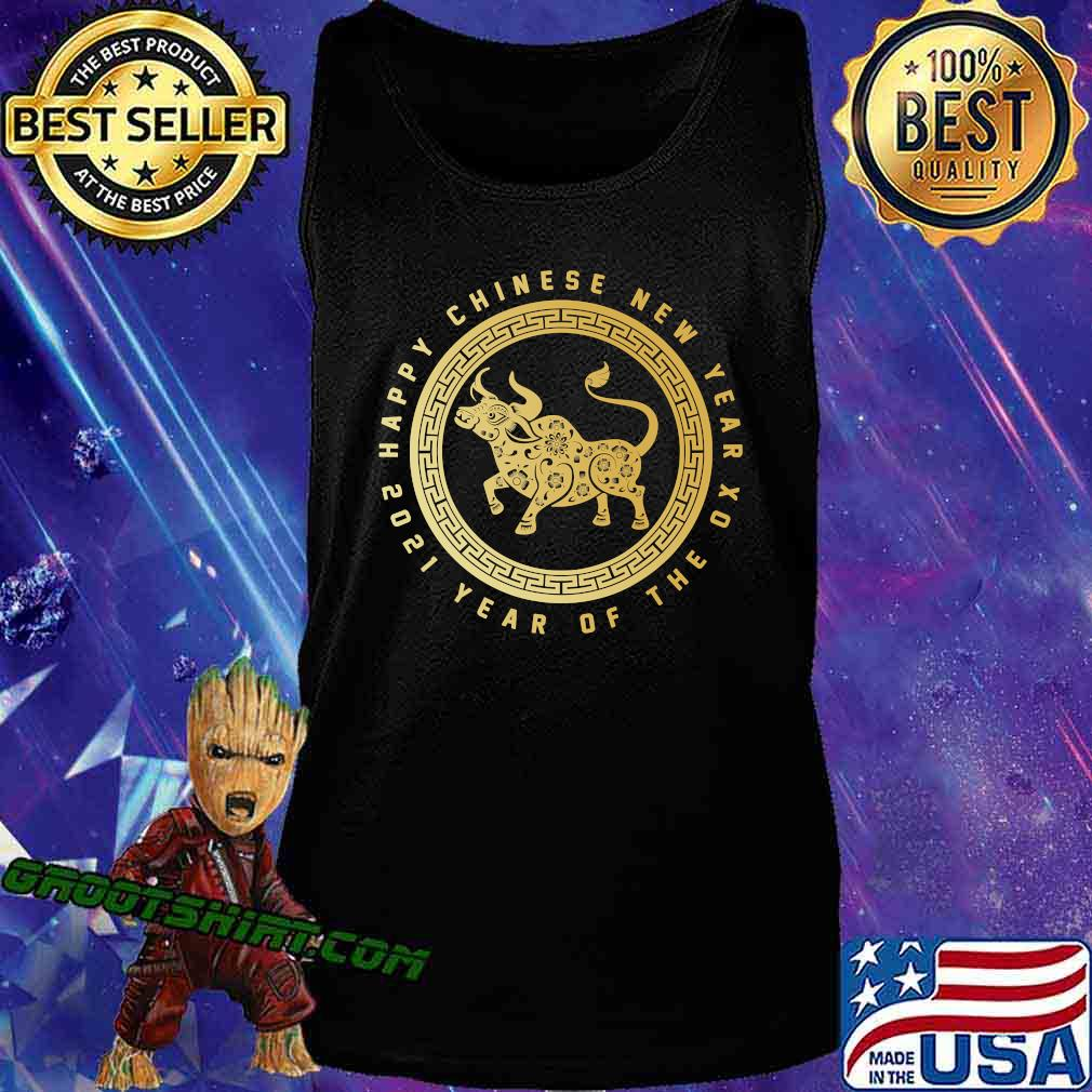 Year Of The Ox Happy Lunar Chinese New Year 2021 Logo Shirt Tank Top