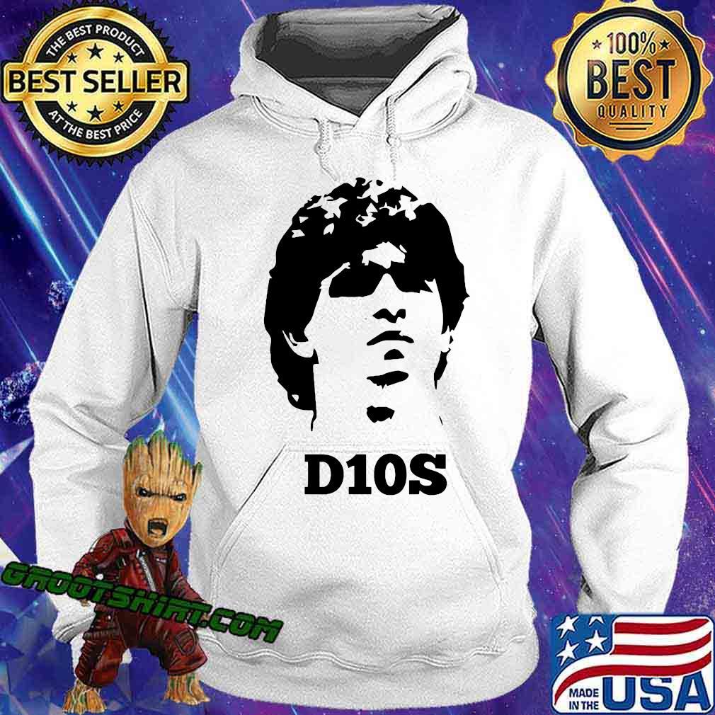 Diego Legends Soccer Maradona Shirt Hoodie