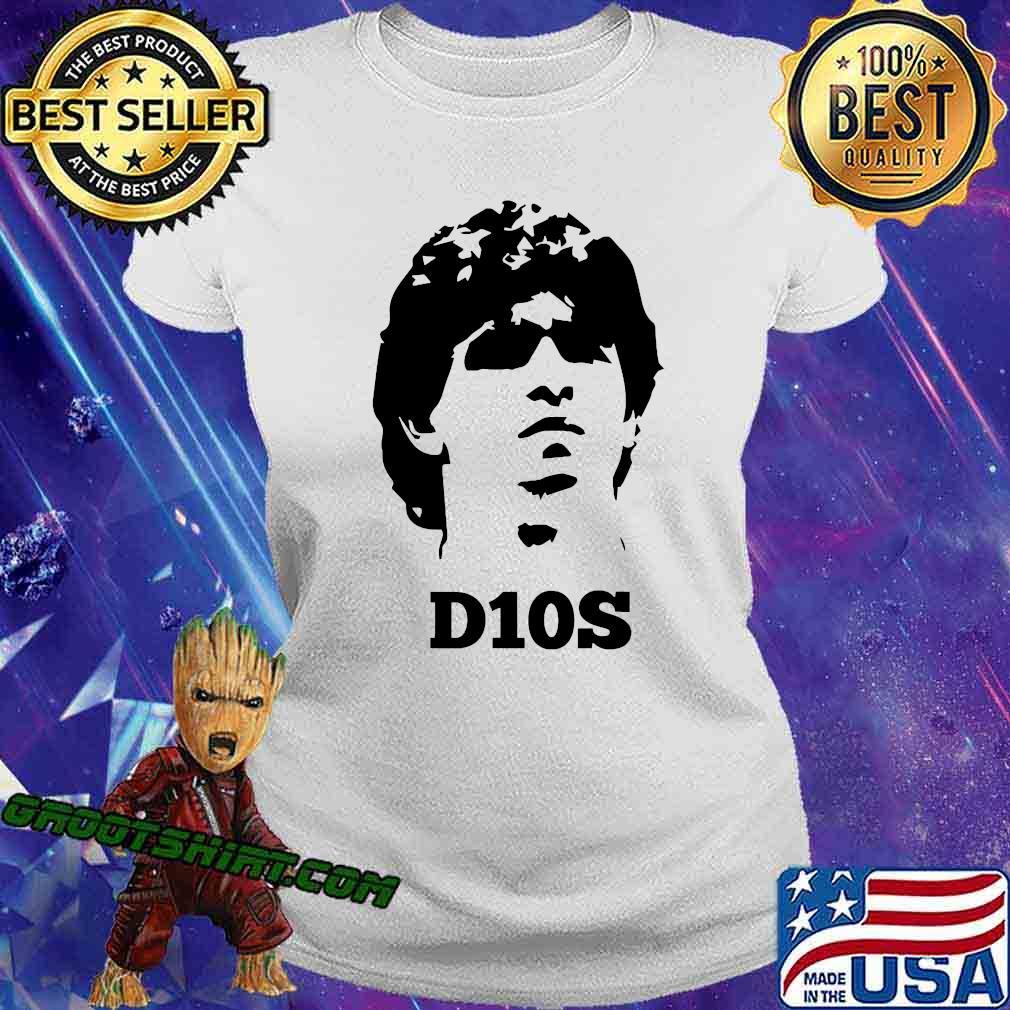 Diego Legends Soccer Maradona Shirt Ladiestee