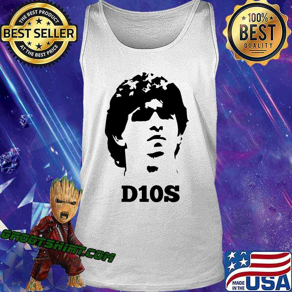 Diego Legends Soccer Maradona Shirt Tank Top