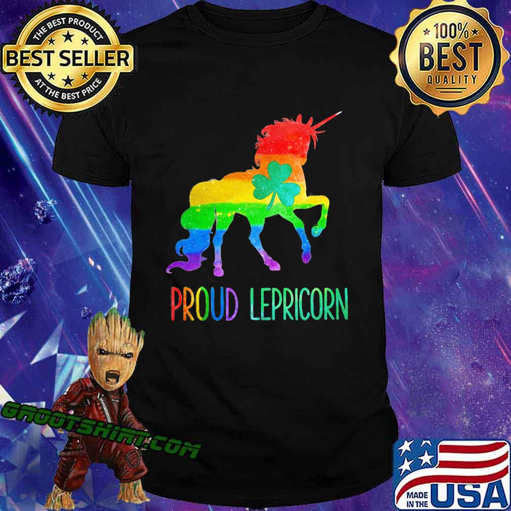 Proud Lepricorn Unicorn Lgbt Shirt